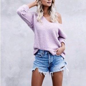 Free People Lofty Oversized Cozy Sweater